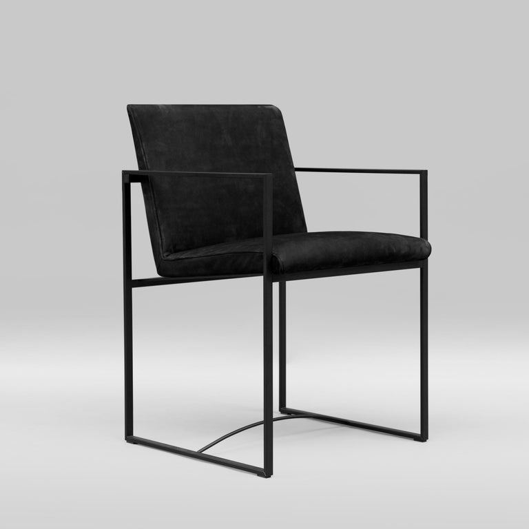 Dutch Peter Ghyczy Contemporary Armchair Urban Maia S06+ Charcoal / F/31 For Sale