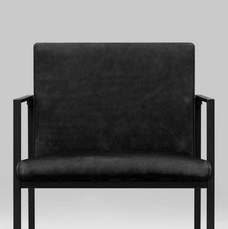 Peter Ghyczy Contemporary Armchair Urban Maia S06+ Charcoal / F/31 In New Condition For Sale In Barcelona, Barcelona
