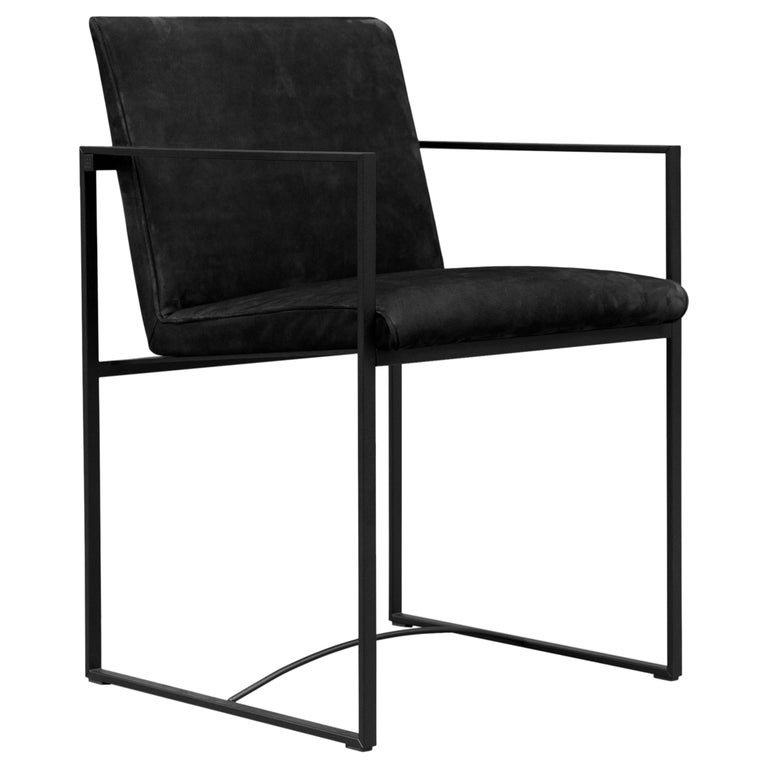 Peter Ghyczy Contemporary Armchair Urban Maia S06+ Charcoal / F/31 For Sale