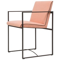 Peter Ghyczy Contemporary Armchair Urban Maia S06+ Ristretto / V09 Coral