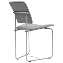 Peter Ghyczy Contemporary Chair Urban Jodie 'S02' Stainless Steel Matt / F14