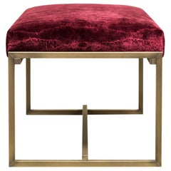 Peter Ghyczy Contemporary Design 'Duet GB03 Cantabria' Upholstered Bench
