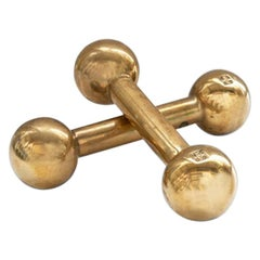 Peter Ghyczy Dumbbell Brass Gloss
