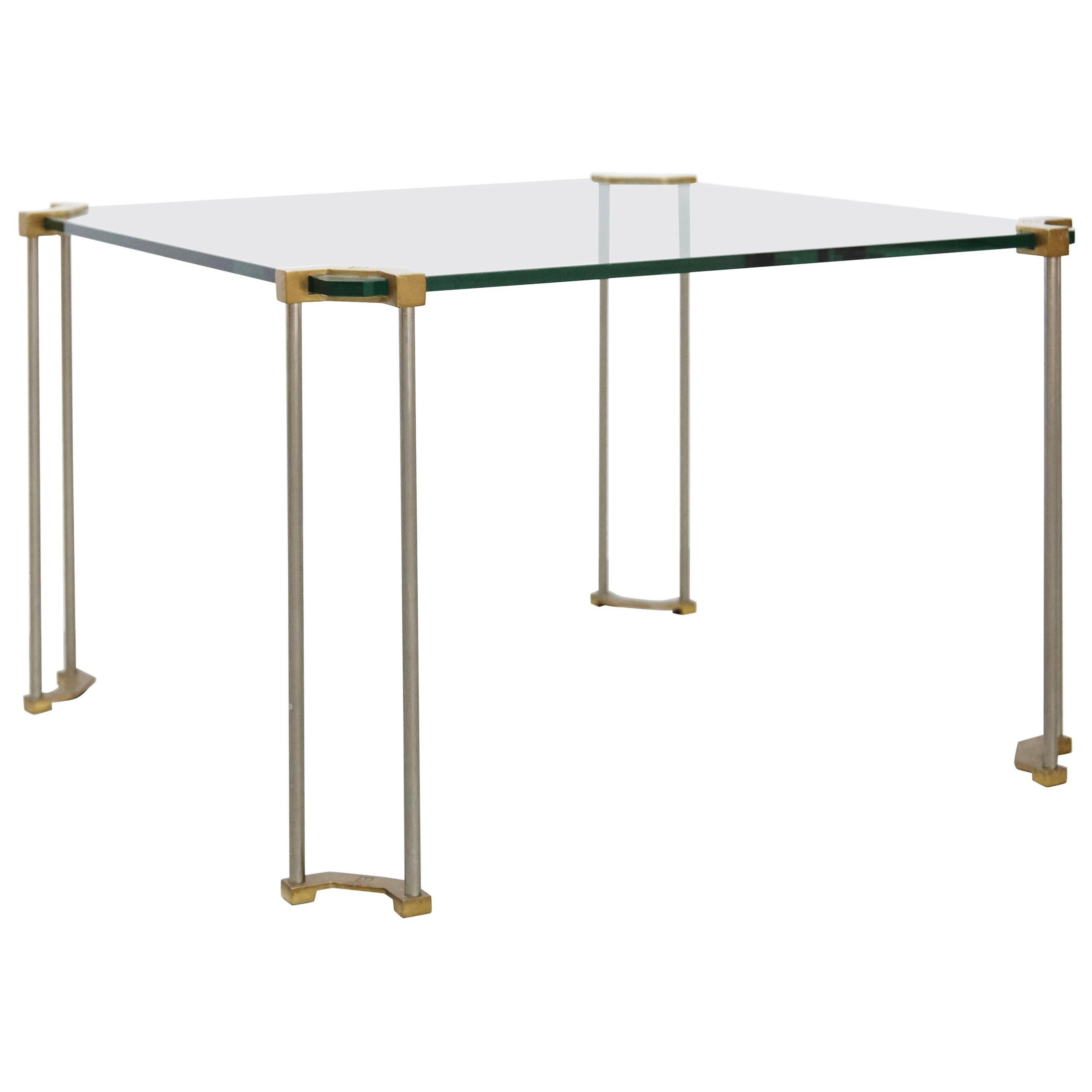 Peter Ghyczy Glass Low Table, circa 1970