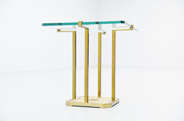 Late 20th Century Peter Ghyczy Side Table, Holland, 1985 For Sale