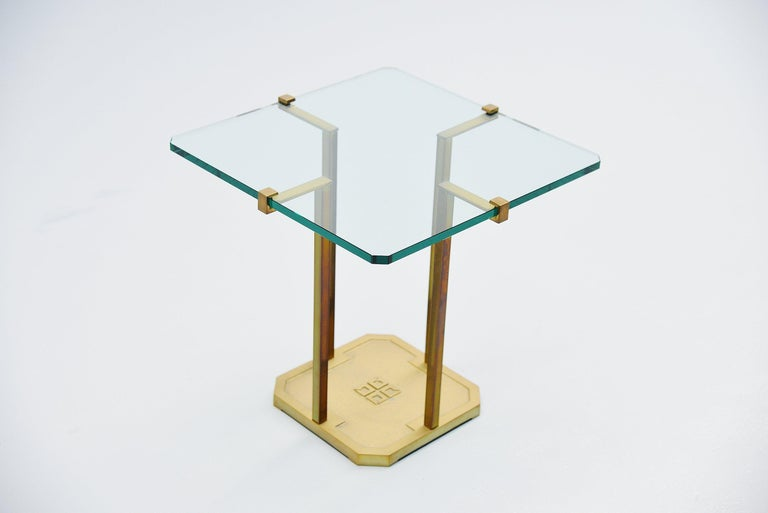 Peter Ghyczy Side Table, Holland, 1985 For Sale 1