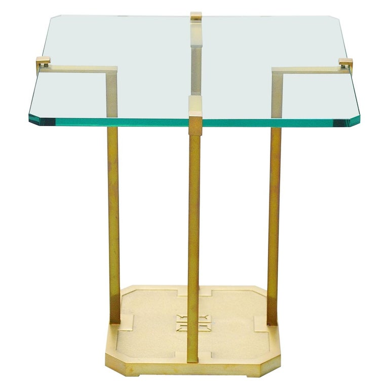 Peter Ghyczy Side Table, Holland, 1985 For Sale