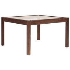 Peter Ghyczy Side Table 'T81' Aluminium / Oak