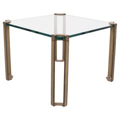 Peter Ghyczy, Square Coffee or Side Table, 1970s