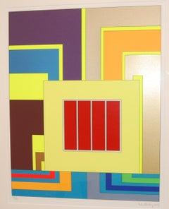 Panic Room Geometric Abstract