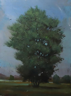 ''20.5'' Contemporary Canadian Landscape Painting, Tree