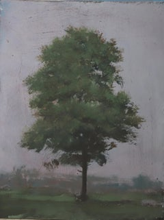 ''20.9'' Contemporary Canadian Landscape Painting, Tree