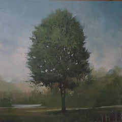 ''Canopy 20'' Contemporary Canadian Landscape Painting, Tree