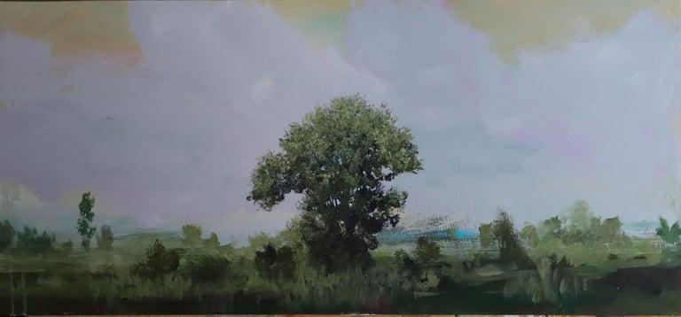 Peter Hoffer Landscape Painting - Dante