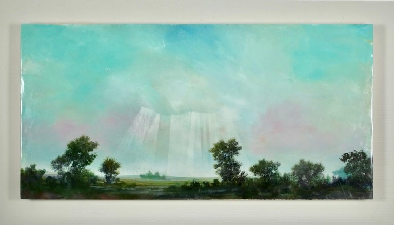 Normandie - Painting by Peter Hoffer