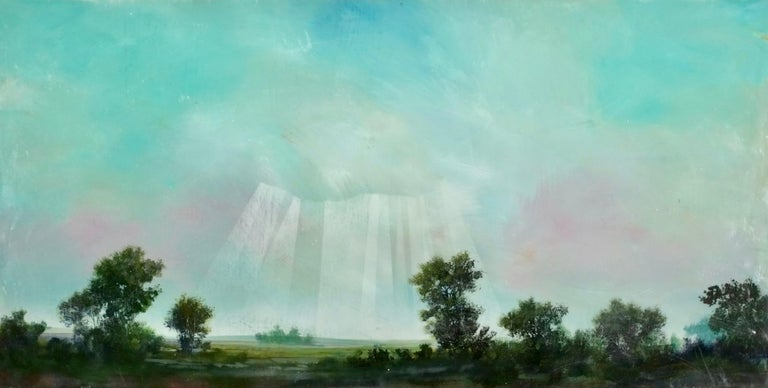 Peter Hoffer Landscape Painting - Normandie