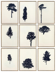 Der Wald (portfolio of 9 woodblock prints)
