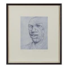 Peter Howson Underground Series Bethnal Green Print 1998