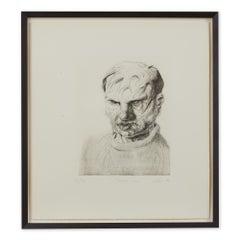 Peter Howson Underground Series Dollis Hill Print 1998
