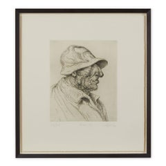 Peter Howson Underground Series Framed Baker St Print, 1998