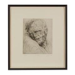 Peter Howson Underground Series Framed Holborn Print, 1998