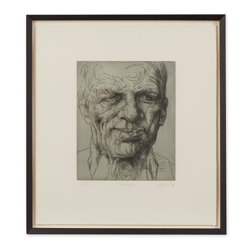 Peter Howson Underground Series Framed Shadwell Print, 1998