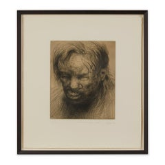Peter Howson Underground Series Mornington Cres Print, 1998