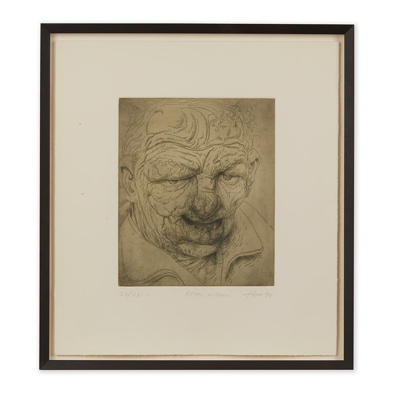 Peter Howson Underground Series Royal Albert Print, 1998 For Sale