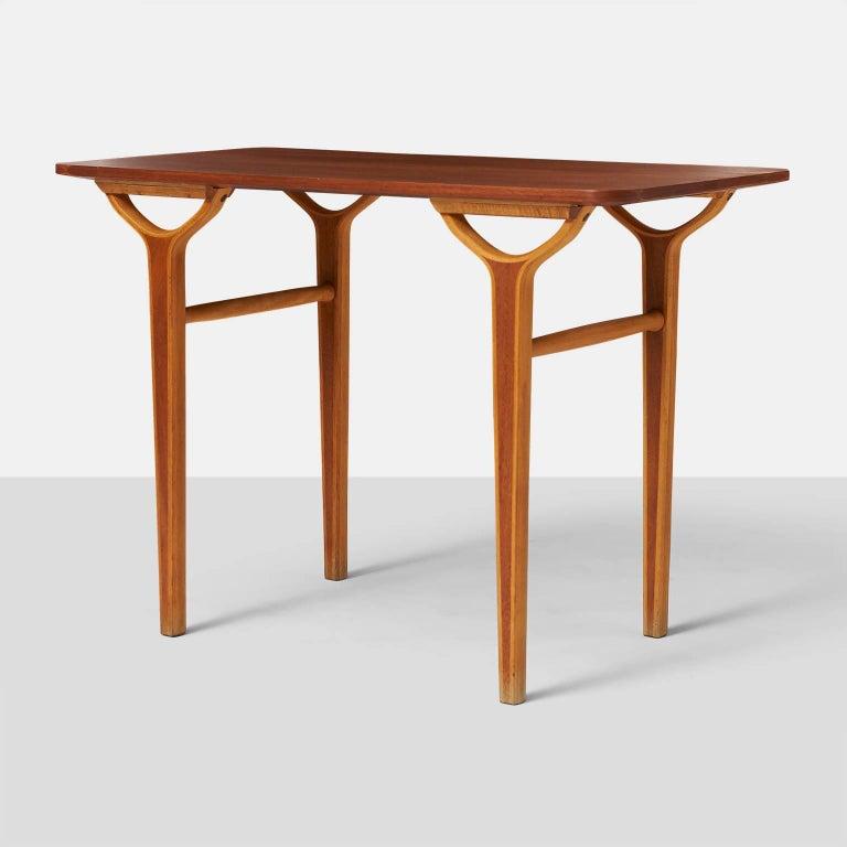 Scandinavian Modern Peter Hvidt & Orla Molgaard Nielsen AX Series Side Tables For Sale