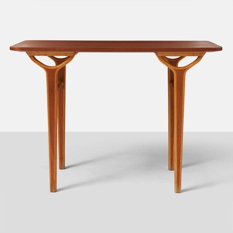Danish Peter Hvidt & Orla Molgaard Nielsen AX Series Side Tables For Sale