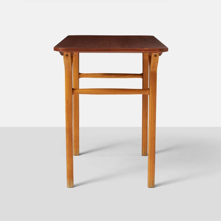 Peter Hvidt & Orla Molgaard Nielsen AX Series Side Tables In Excellent Condition For Sale In San Francisco, CA
