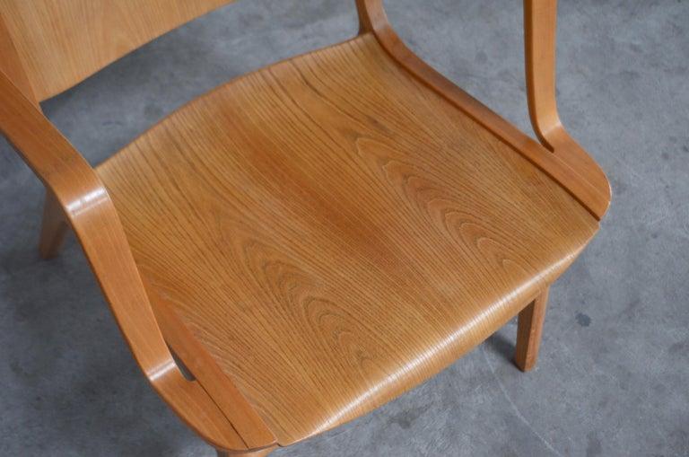 Peter Hvidt and Orla Mølgaard-Nielsen Ax Lounge Chair for Fritz Hansen For Sale 3