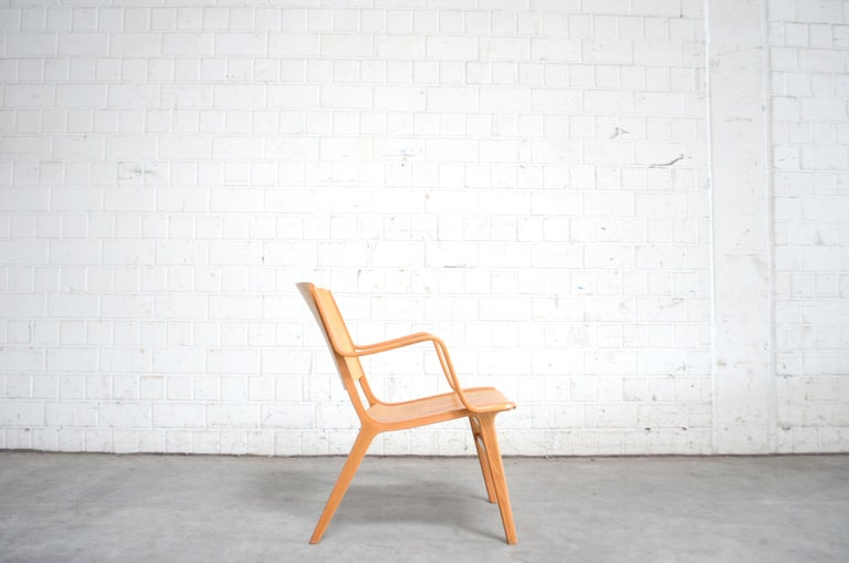 Peter Hvidt and Orla Mølgaard-Nielsen Ax Lounge Chair for Fritz Hansen In Good Condition For Sale In Munich, Bavaria