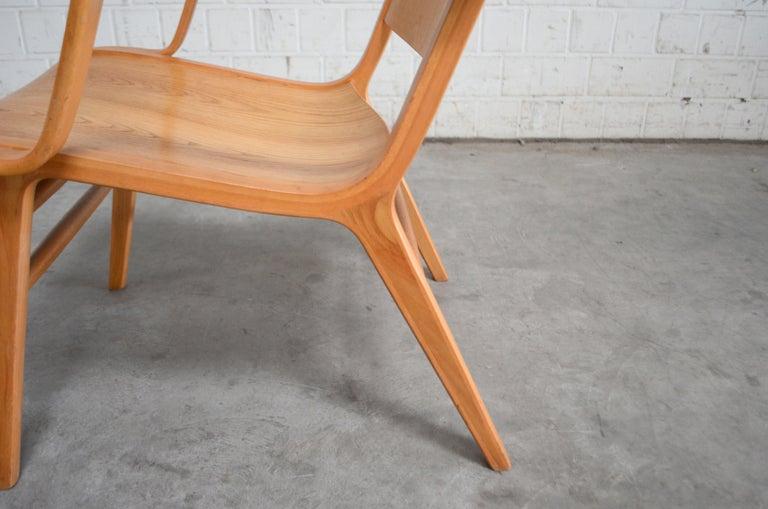 Peter Hvidt and Orla Mølgaard-Nielsen Ax Lounge Chair for Fritz Hansen For Sale 1