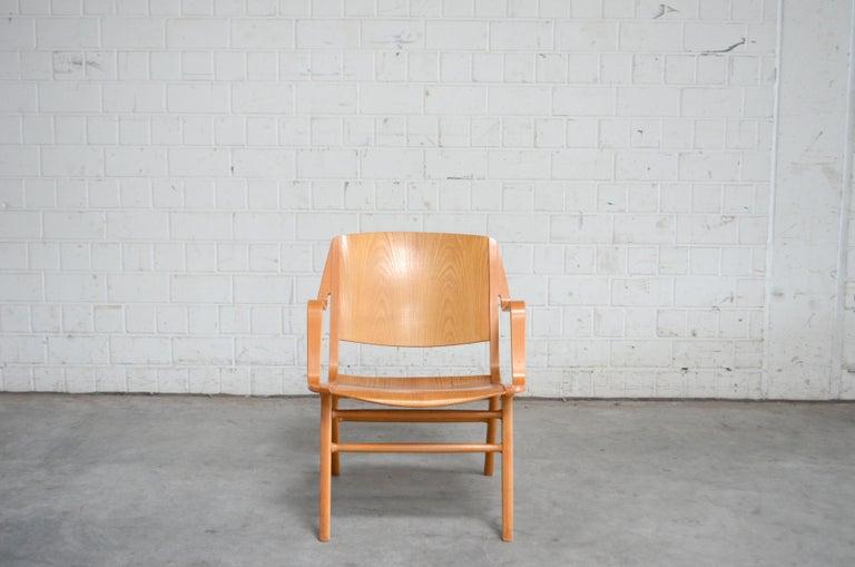 Peter Hvidt and Orla Mølgaard-Nielsen Ax Lounge Chair for Fritz Hansen For Sale 2