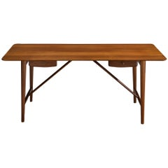 Peter Hvidt and Orla M?lgaard Nielsen Desk in Solid Teak