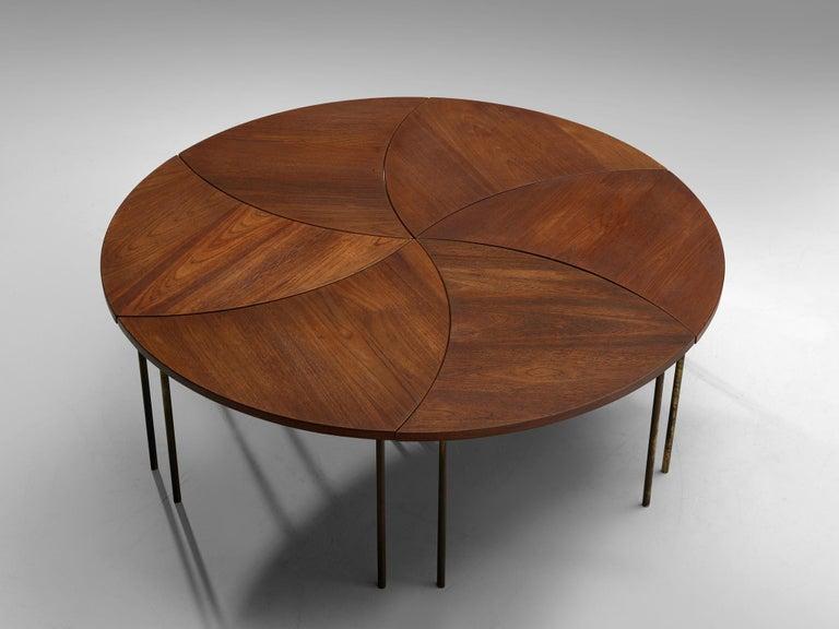 Mid-Century Modern Peter Hvidt and Orla Mølgaard Nielsen Six Piece 523 Coffee Table