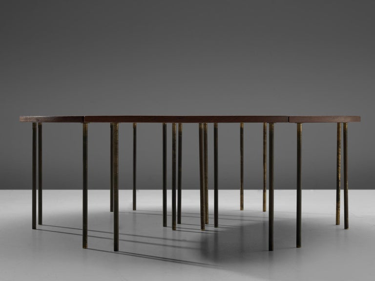 Mid-20th Century Peter Hvidt and Orla Mølgaard Nielsen Six Piece 523 Coffee Table