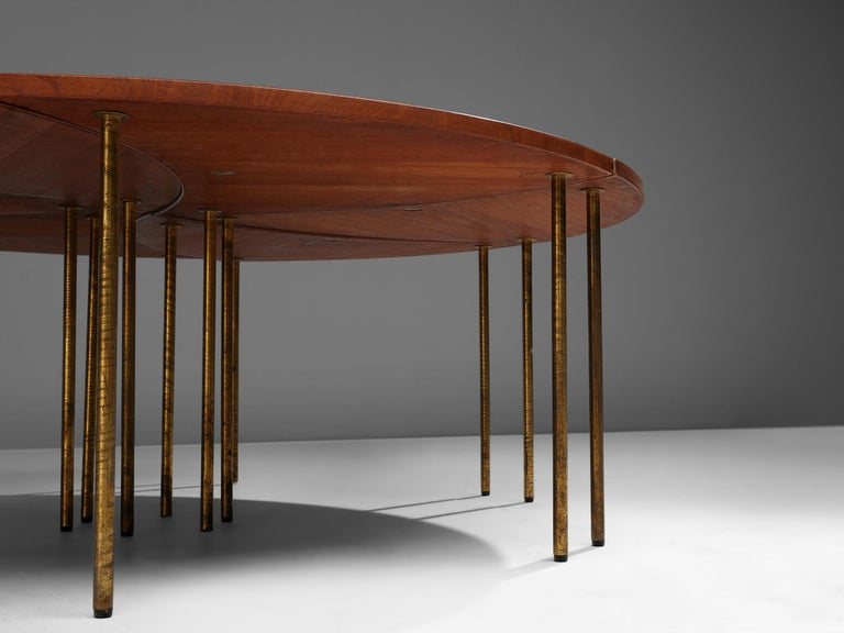 Peter Hvidt and Orla Mølgaard Nielsen Six-Piece Coffee Table For Sale 2