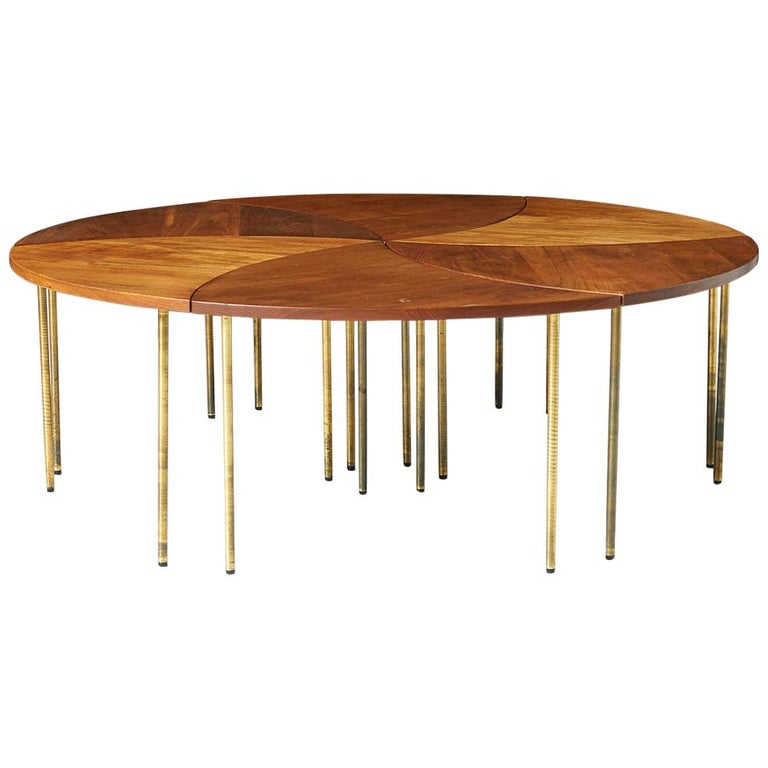 Peter Hvidt Coffee Table Model #523 For Sale