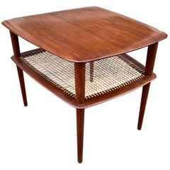 Peter Hvidt for John Stuart Furniture Solid Teak Side Table