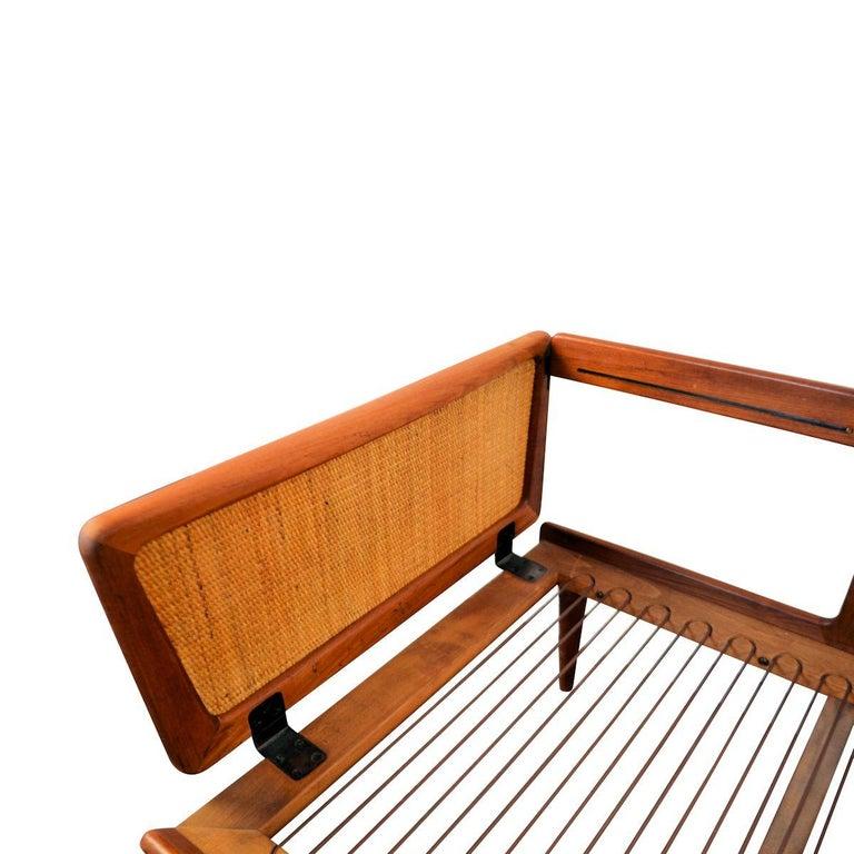 Peter Hvidt & Orla Mølgaard-Nielsen #451 Teak Sofa For Sale 4
