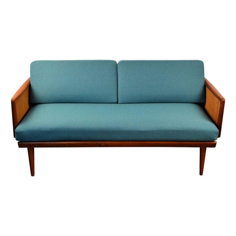 Mid-Century Modern Peter Hvidt & Orla Mølgaard-Nielsen #451 Teak Sofa For Sale