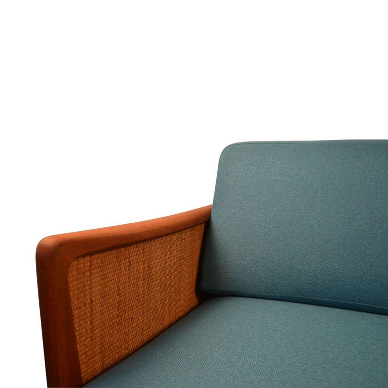 Danish Peter Hvidt & Orla Mølgaard-Nielsen #451 Teak Sofa For Sale