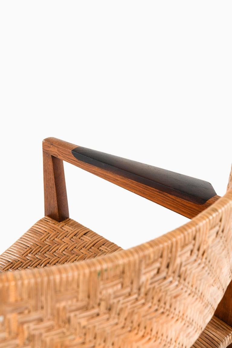 Peter Hvidt & Orla Mølgaard-Nielsen Armchairs Model 350 by Søborg Møbler For Sale 2