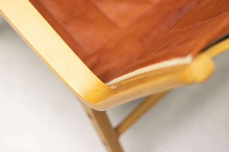 Peter Hvidt & Orla Mølgaard-Nielsen AX Chair In Fair Condition For Sale In Dronten, NL