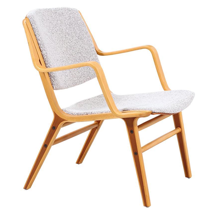 """Peter Hvidt & Orla Mølgaard-Nielsen """"Ax"""" Lounge Chair for Fritz Hansen"""