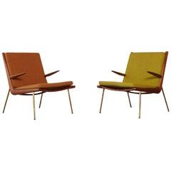 Peter Hvidt & Orla Mølgaard-Nielsen Boomerang Chairs, Denmark, 1960s