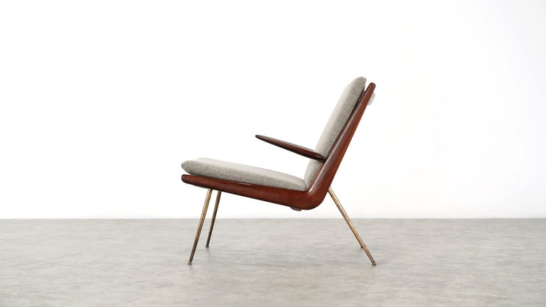 Peter Hvidt & Orla Mølgaard Nielsen Boomerang Lounge Chair, France & Daverkosen For Sale 10
