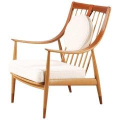Peter Hvidt & Orla Mølgaard-Nielsen FD144 Easy Chair, Denmark, 1953